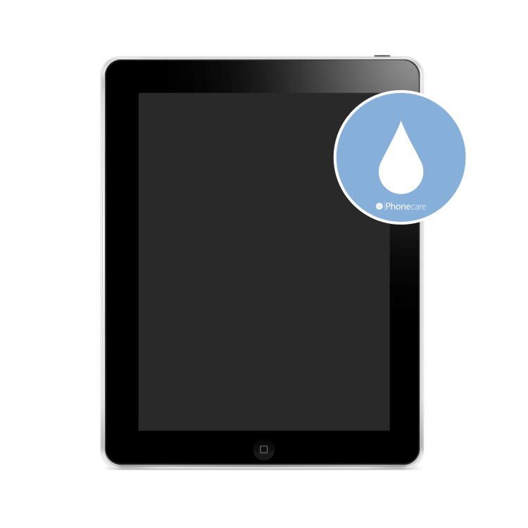 Flüssigkeitsschaden (Diagnose) iPad 1