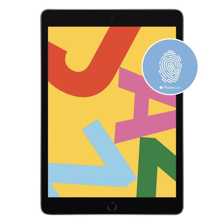 "Austausch Homebutton iPad 7 (10.2"") (A2197, A2200, A2198) (ohne Touch ID)"