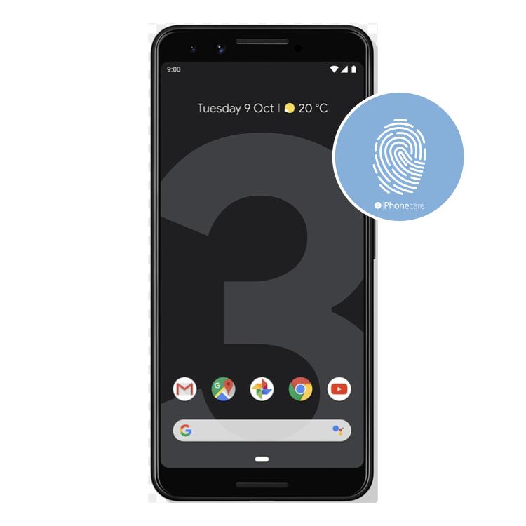 Austausch Fingerabdrucksensor / Fingerprint / Touch ID Google Pixel 3 (G013A)
