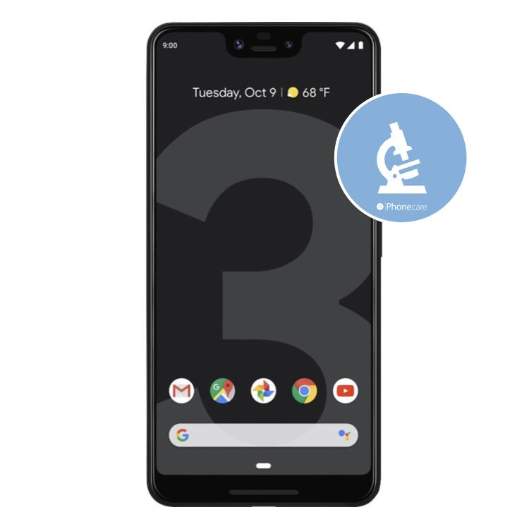 Diagnose Google Pixel 3 XL