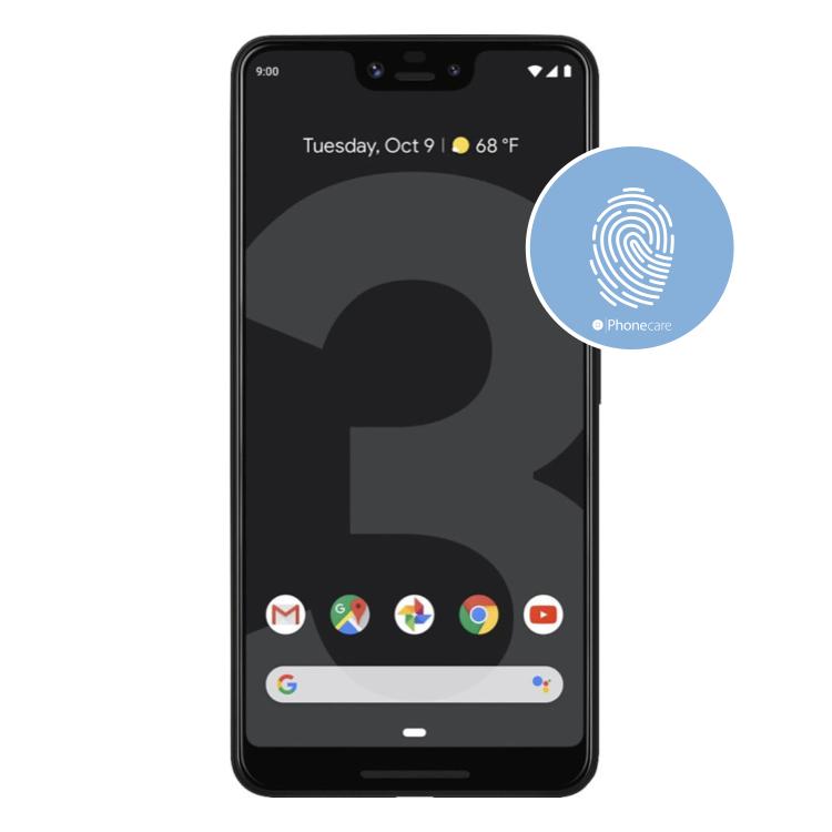 Austausch Fingerabdrucksensor / Fingerprint / Touch ID Google Pixel 3 XL (G013C)