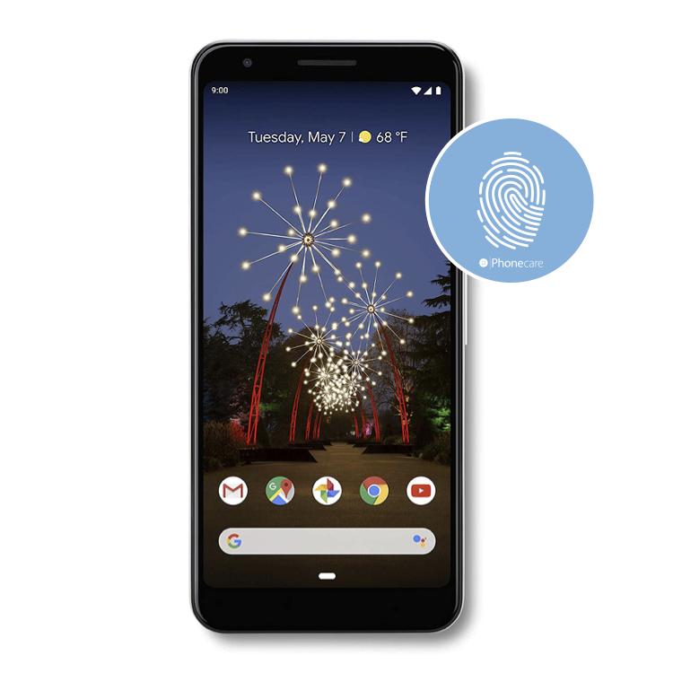 Austausch Fingerabdrucksensor / Fingerprint / Touch ID Google Pixel 3a (G020F)