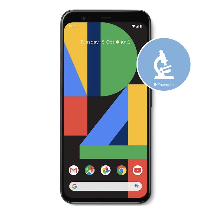 Diagnose Google Pixel 4