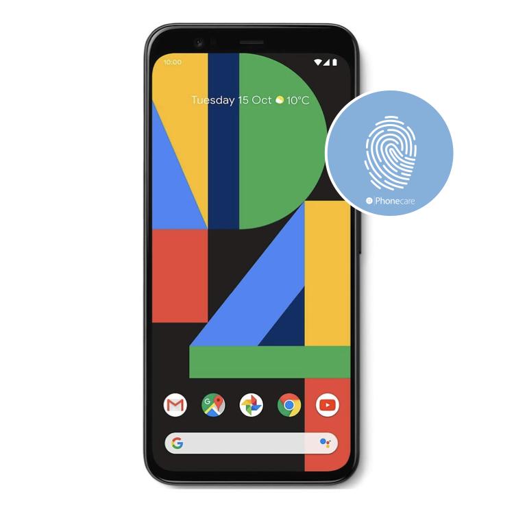 Austausch Fingerabdrucksensor / Fingerprint / Touch ID Google Pixel 4 (G020I, G020M)