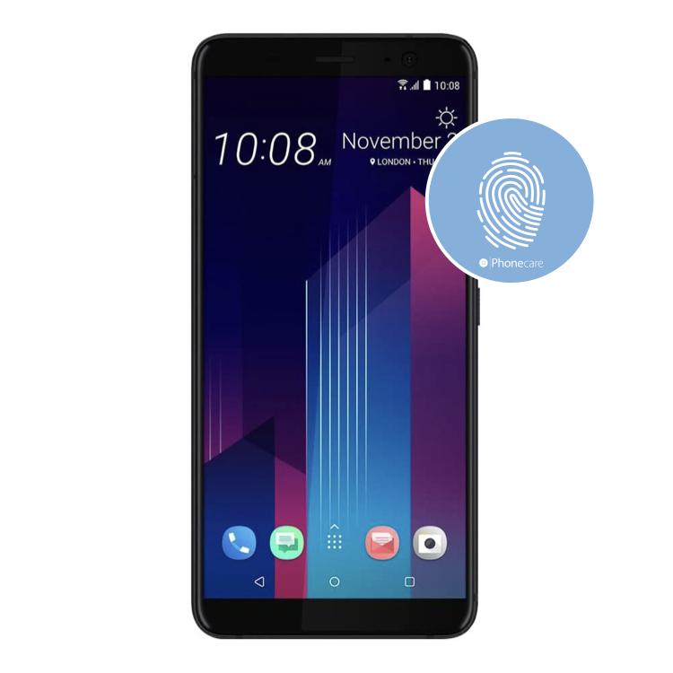 Austausch Fingerabdrucksensor / Fingerprint / Touch ID HTC U11+