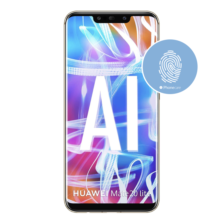 Austausch Fingerabdrucksensor / Fingerprint / Touch ID Huawei Mate 20 Lite (SNE-LX1, SNE-AL00)