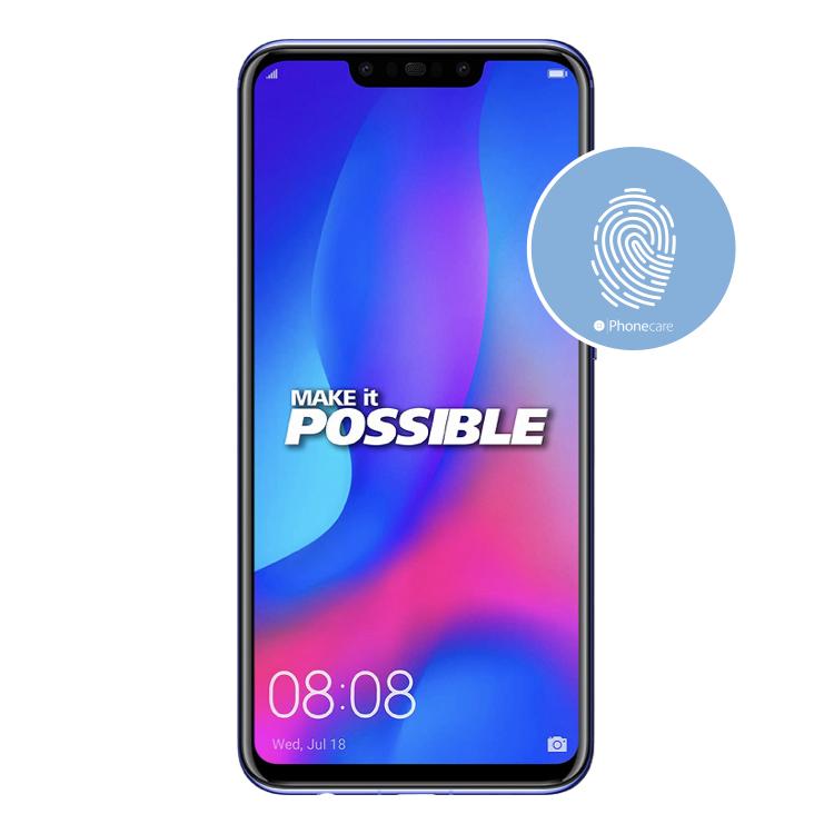 Austausch Fingerabdrucksensor / Fingerprint / Touch ID Huawei Nova 3 (PAR-LX1, PAR-LX9)