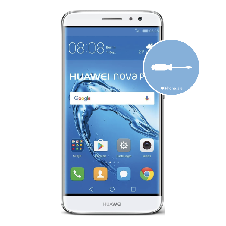 Austausch Powerbutton/Laut-Leiser Taste Huawei Nova Plus (MLA-L01)