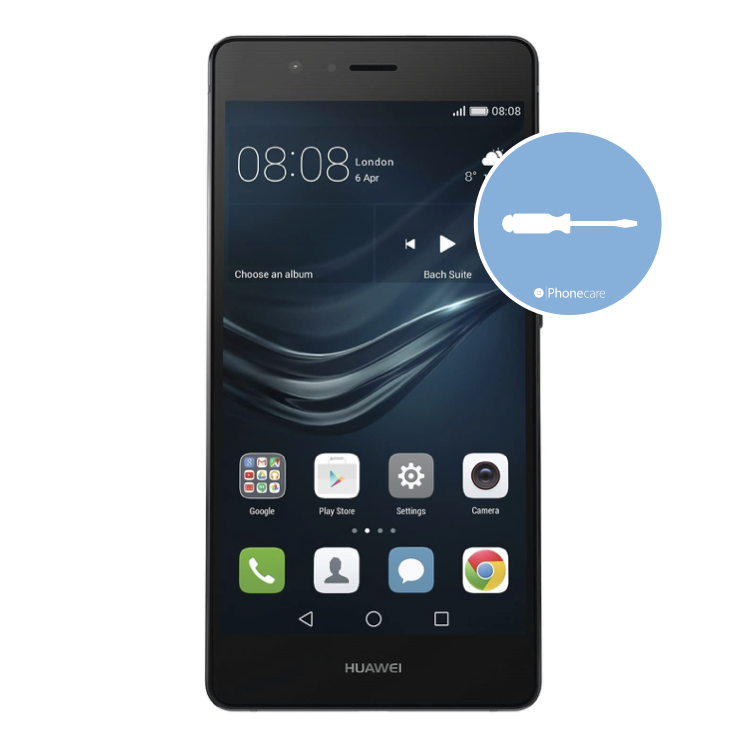 Austausch Powerbutton/Laut-Leiser Taste Huawei P9 Lite (VNS-L21)