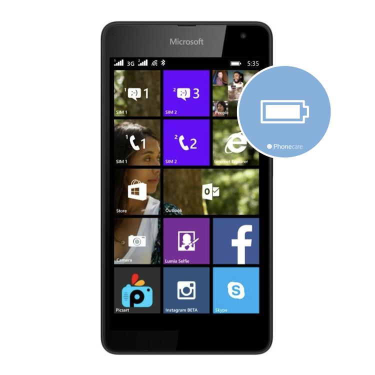 Austausch Akku Lumia 535
