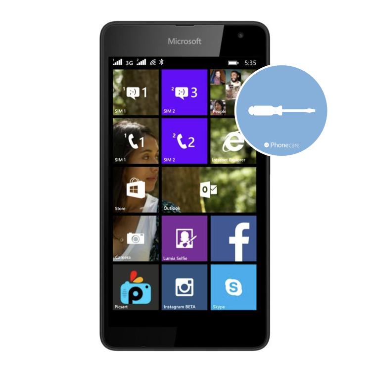 Austausch Powerbutton/Laut-Leiser Taste Lumia 535