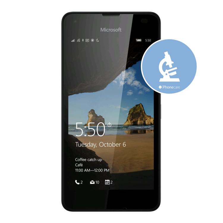 Diagnose Lumia 550