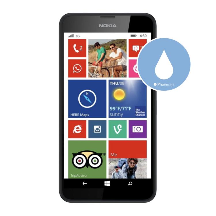 Flüssigkeitsschaden (Diagnose) Lumia 630