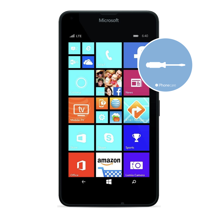 Austausch Powerbutton/Laut-Leiser Taste Lumia 640