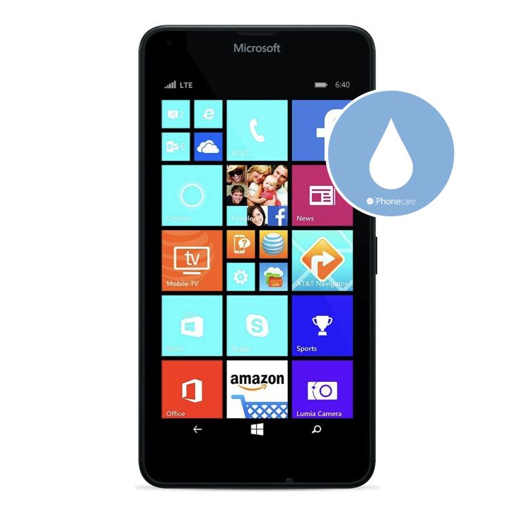Flüssigkeitsschaden (Diagnose) Lumia 640