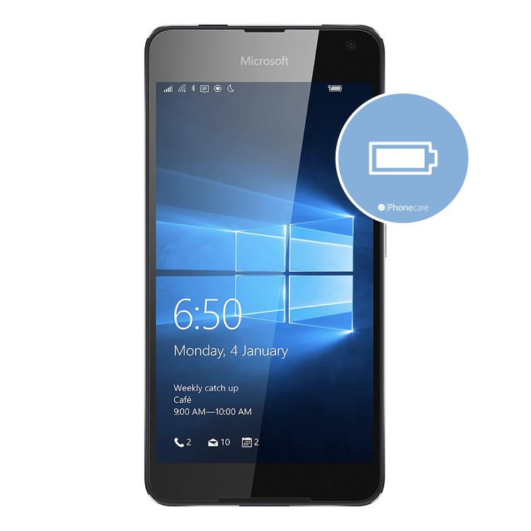 Austausch Akku Lumia 650