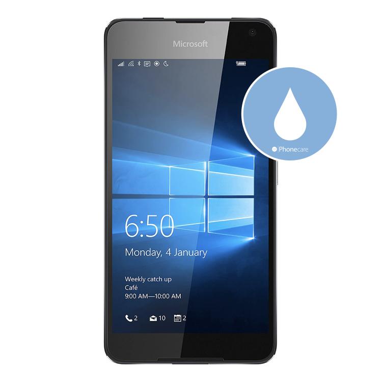Flüssigkeitsschaden (Diagnose) Lumia 650