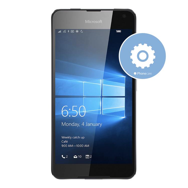 Softwareservice Lumia 650