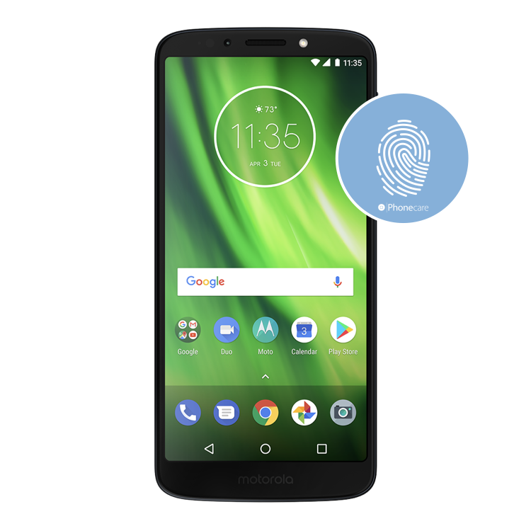 Austausch Fingerabdrucksensor / Fingerprint / Touch ID moto g6 play