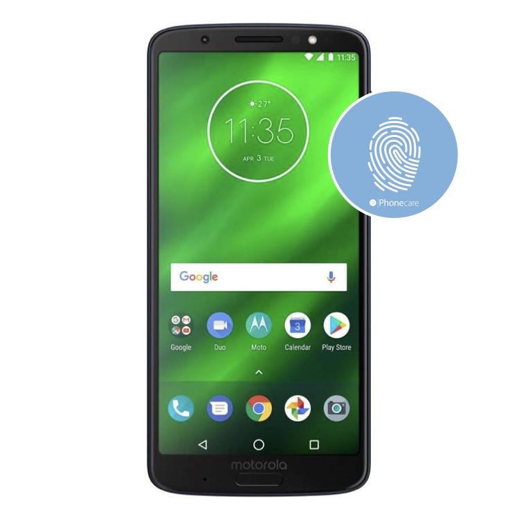 Austausch Fingerabdrucksensor / Fingerprint / Touch ID moto g6 plus