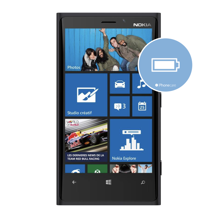 Austausch Akku Nokia Lumia 920