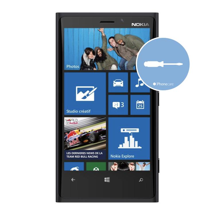 Austausch Powerbutton/Laut-Leiser Taste Nokia Lumia 920