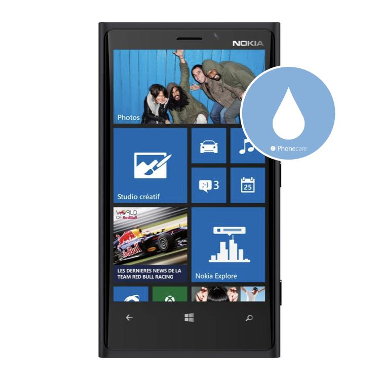 Flüssigkeitsschaden (Diagnose) Nokia Lumia 920