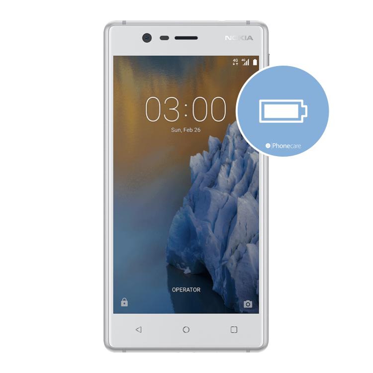 Austausch Akku Nokia 3