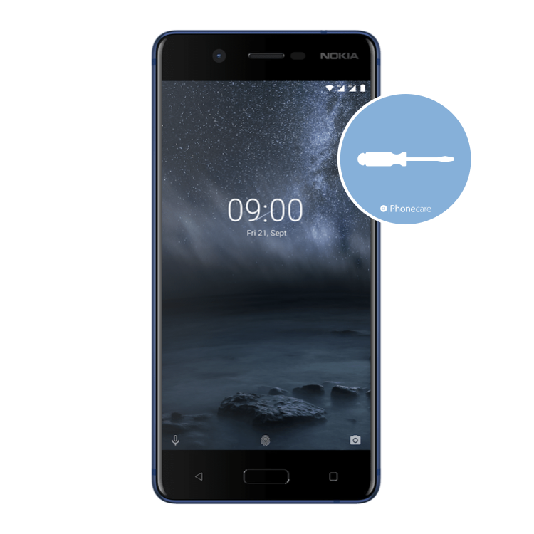 Austausch Powerbutton/Laut-Leiser Taste Nokia 5