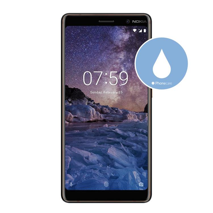 Flüssigkeitsschaden (Diagnose) Nokia 7 Plus