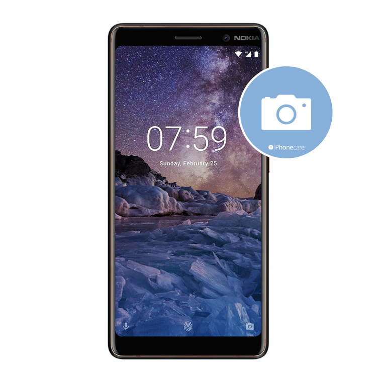 Austausch Hauptkamera Nokia 7 Plus