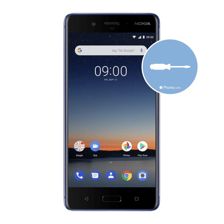 Austausch Powerbutton/Laut-Leiser Taste Nokia 8