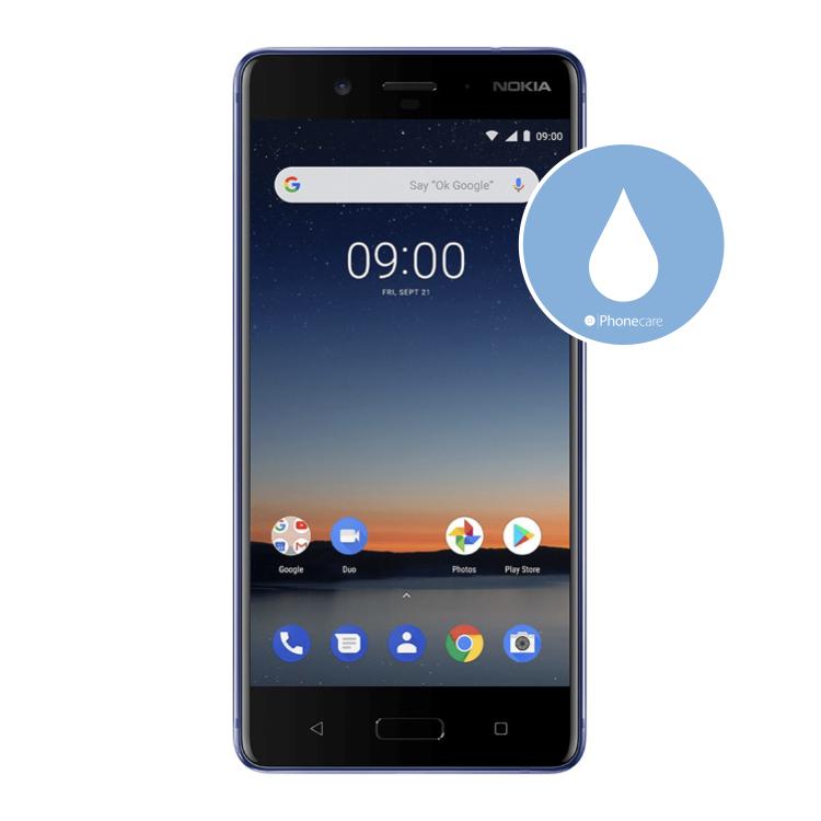 Flüssigkeitsschaden (Diagnose) Nokia 8