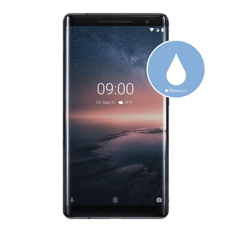 Flüssigkeitsschaden (Diagnose) Nokia 8 Sirocco