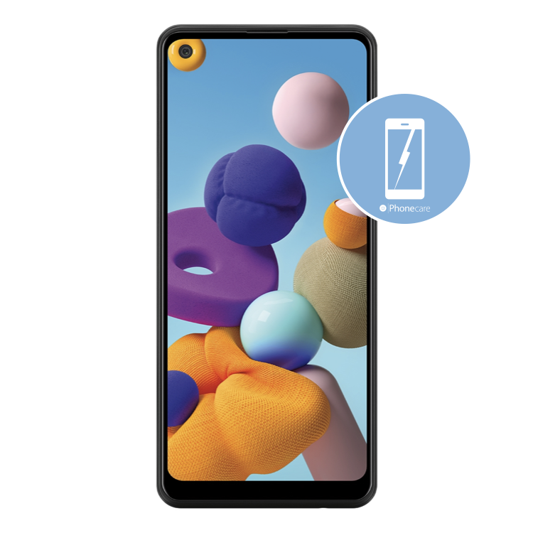 Austausch Displayeinheit Samsung Galaxy A21s A217F