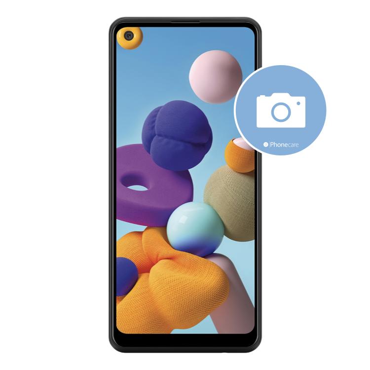 Austausch Kameraglas Samsung Galaxy A21s A217F