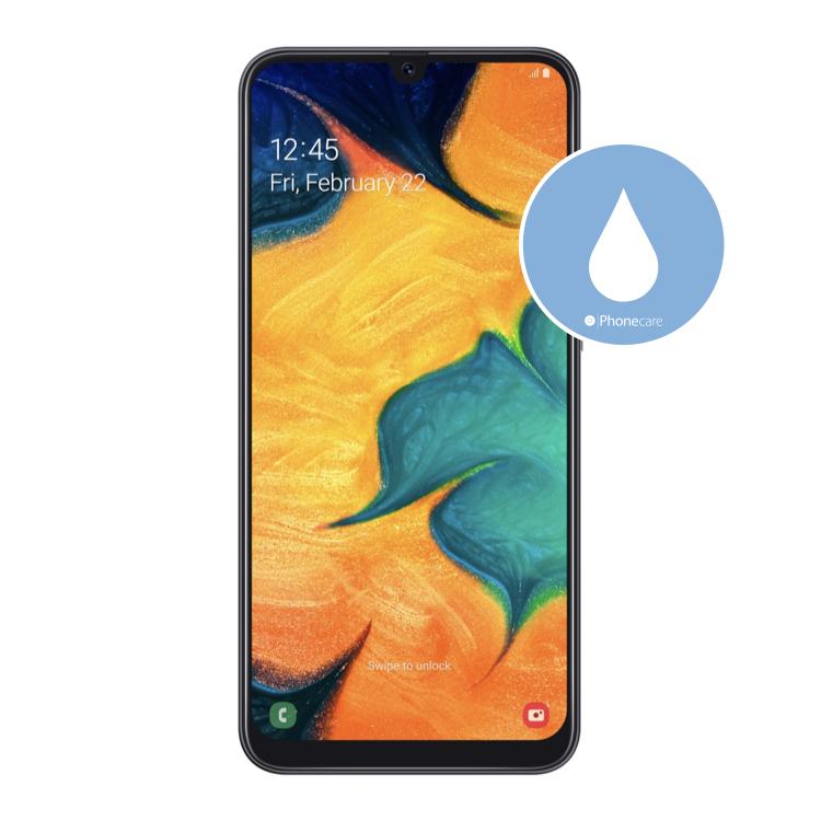 Flüssigkeitsschaden (Diagnose) Samsung Galaxy A30