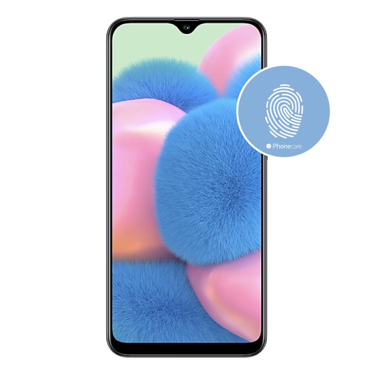 Austausch Fingerabdrucksensor / Fingerprint / Touch ID Samsung Galaxy A30s A307F