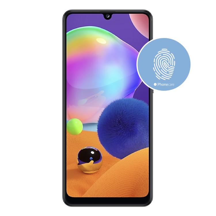 Austausch Fingerabdrucksensor / Fingerprint / Touch ID Samsung Galaxy A31 A315F