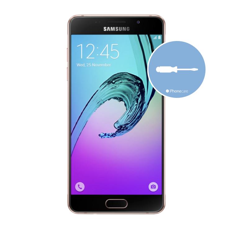 Austausch Powerbutton/Laut-Leiser Taste Samsung A5 A510F (2016)