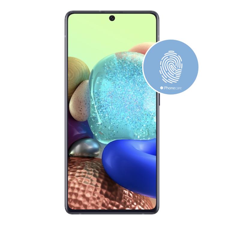 Austausch Fingerabdrucksensor / Fingerprint / Touch ID Samsung Galaxy A71 A715F