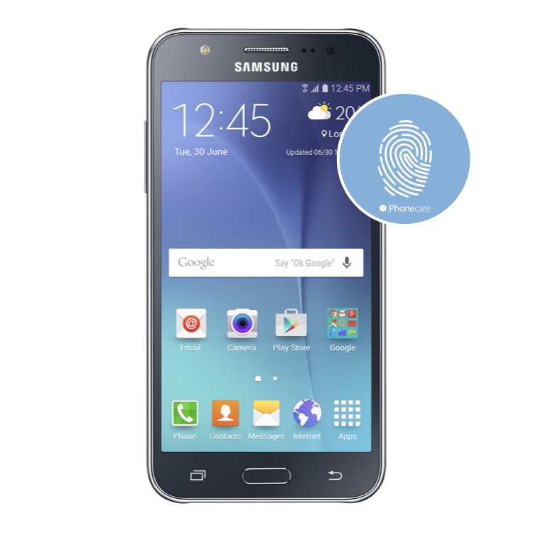 Austausch Homebutton Samsung Galaxy J5 J500F (2015)
