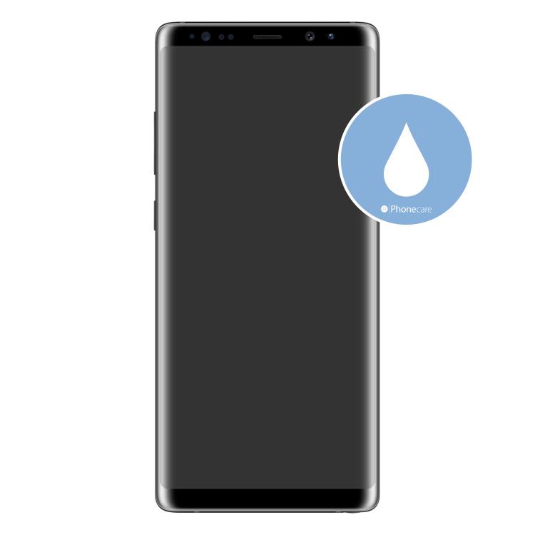Flüssigkeitsschaden (Diagnose) Samsung Galaxy Note 8