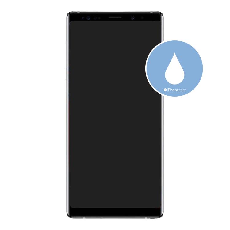 Flüssigkeitsschaden (Diagnose) Samsung Galaxy Note 9