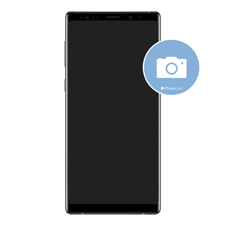 Austausch Frontkamera Samsung Galaxy Note 9