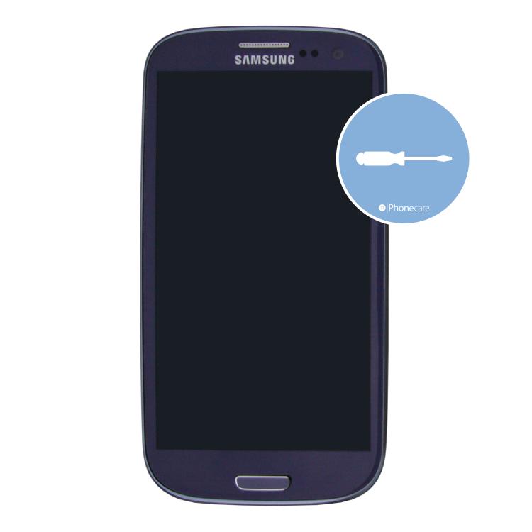 Austausch Mittelrahmen (mit Kameralinse) Samsung Galaxy i9300 S3