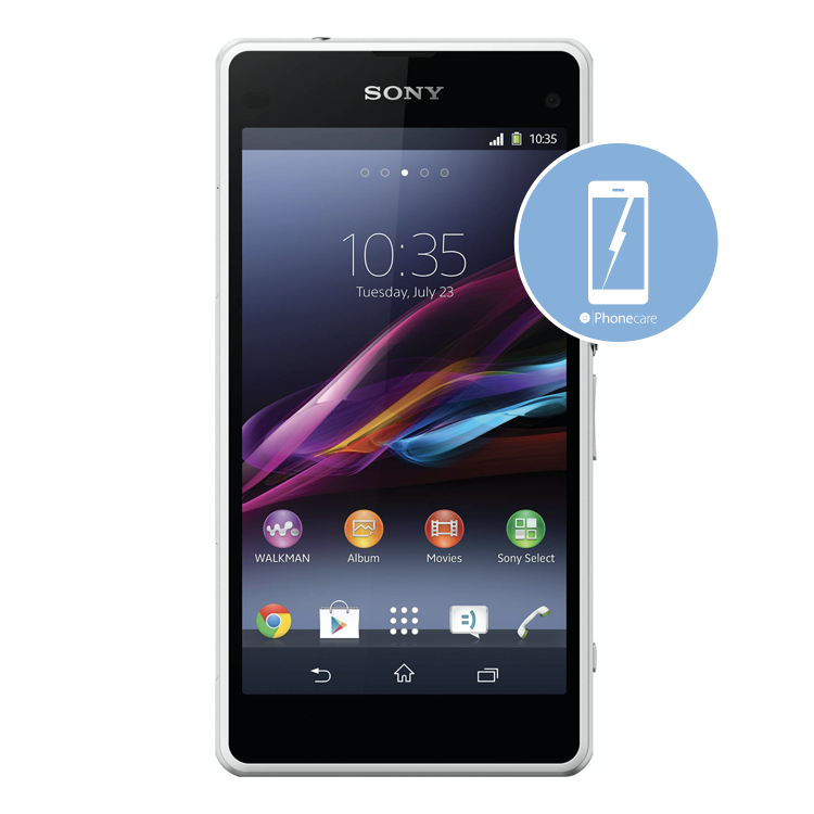 Austausch Displayeinheit Sony Xperia Z1 compact