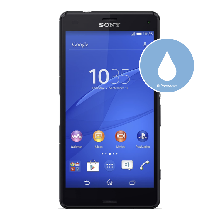 Flüssigkeitsschaden (Diagnose) Sony Z3 compact
