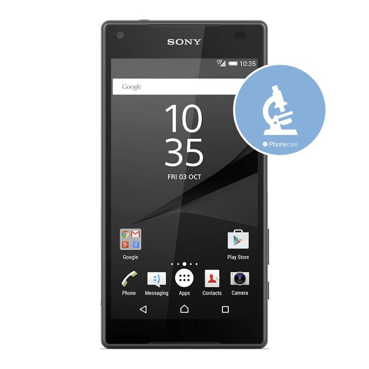Diagnose Sony Z5 compact