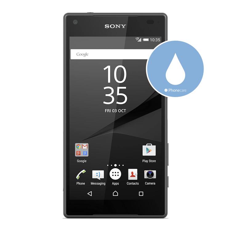 Flüssigkeitsschaden (Diagnose) Sony Z5 compact
